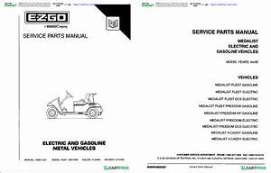 1996 Ezgo Golf Cart Parts Diagram