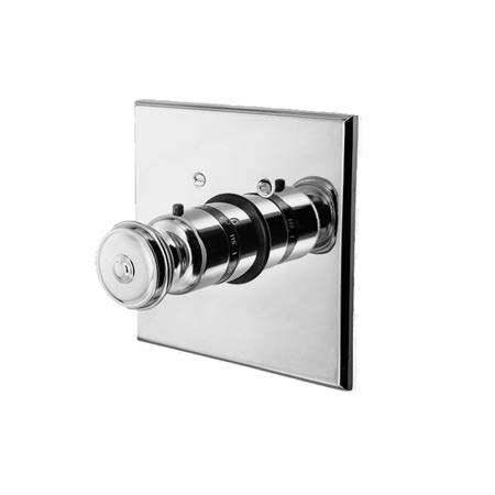 amisa square thermostatic trim plate with handle 3
