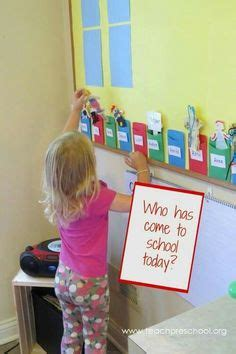 whos  today attendance chart    classroom