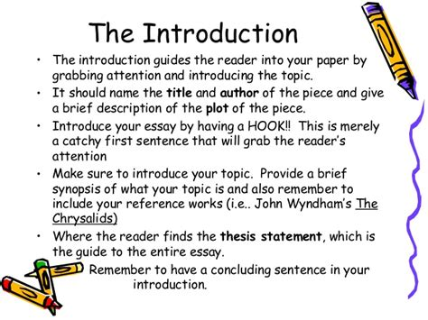 Intro To Writing A Paper by Essay Writing For Dummies High School Essay Writing