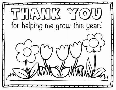 Coloring Teacher Appreciation