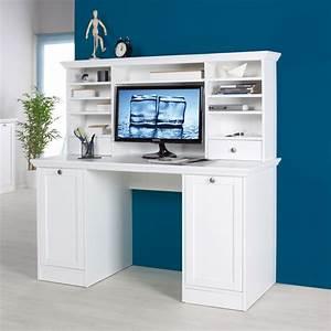 Sekretär Weiß Modern : schreibtisch landwood 33 mit aufsatz landhausstil sekret r wei ebay ~ Indierocktalk.com Haus und Dekorationen