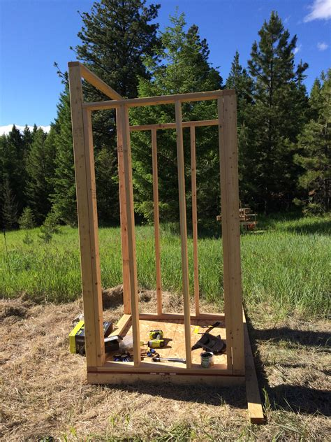 building  outhouse  modern homesteader