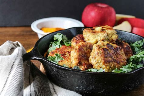 In large skillet heat oil over medium heat. Chicken Apple Breakfast Sausage - Wanderlust and Wellness