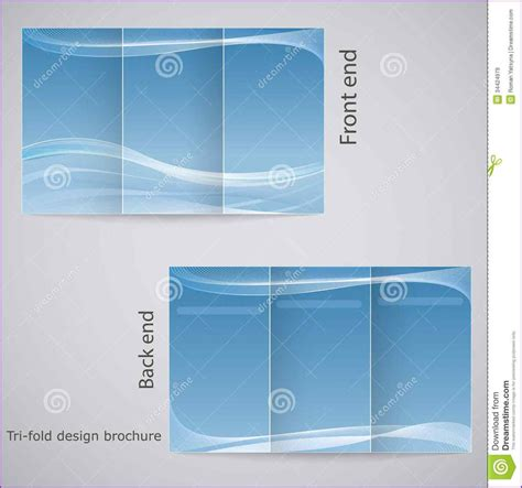 Three Fold Brochure Template Free by Free 3 Fold Brochure Template Trifold Brochure