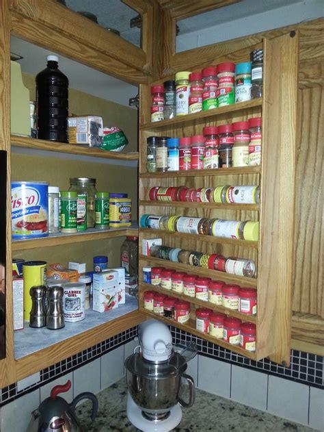 Custom Spice Racks by Custom In Door Spice Rack Cabinets Spice