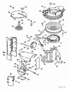 Johnson Ignition System Parts For 1999 175hp J175plees Outboard Motor