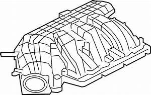 Ford Mustang Engine Intake Manifold  3 7 Liter  Mustang  3