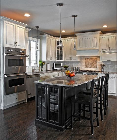 black island kitchen would a small kitchen look with black cabinets 1682