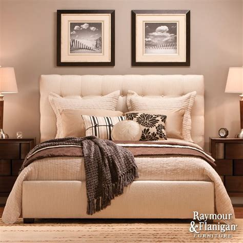 dana king bed from raymour and flanigan so beautiful