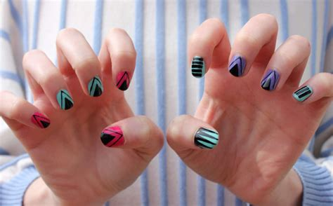 Nail Art Diy :  Tribal-inspired Designs