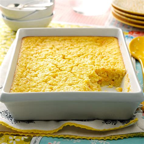 kitchen collection magazine corn pudding recipe taste of home