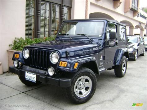 patriot jeep blue 2003 patriot blue jeep wrangler x 4x4 freedom edition