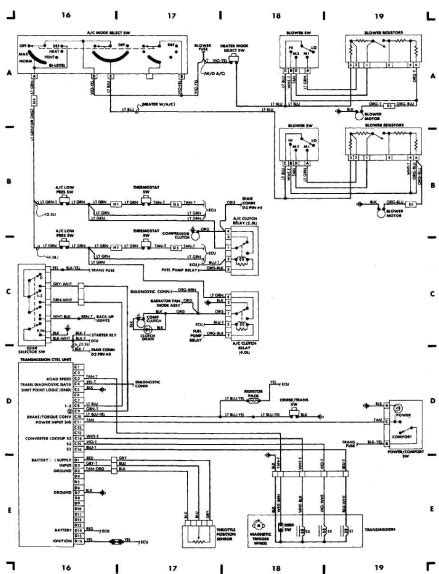 1998 Jeep Wrangler 4 0 Injector Wiring Diagram by A C Compressor Not Getting Power Page 3 Jeep