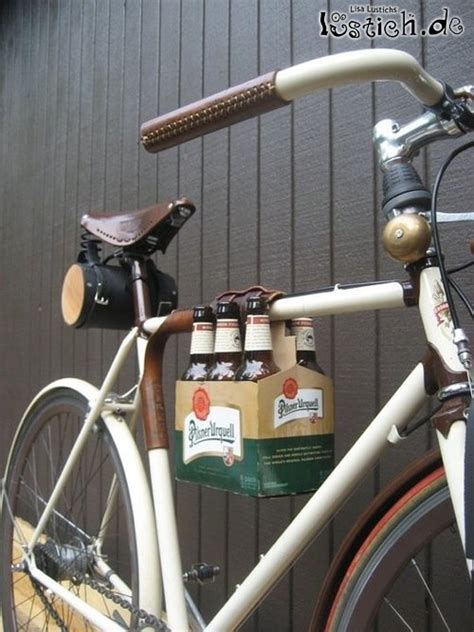 bier fahrrad bild lustichde