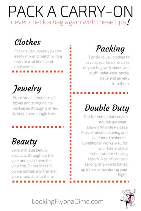 How To Pack A Carry On Looking Fly On A Dime
