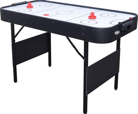 air hockey table game gamesson shark 4 foot air hockey table liberty games