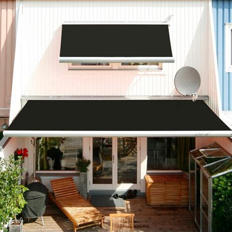 advaning luxury series electric retractable patio awning wayfair