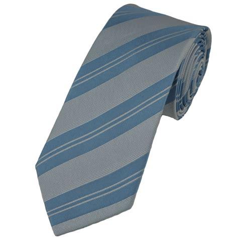 light blue tie blue light blue striped silk narrow tie from ties planet uk
