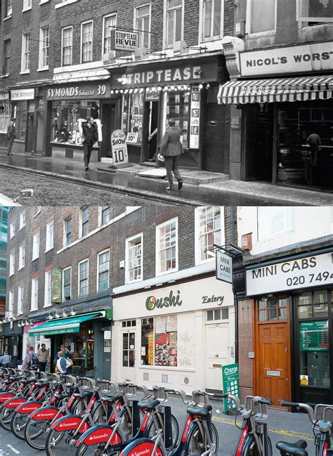 Amazing vintage photos in London Then and Now - People and ...