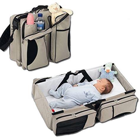 baby travel bassinet diaper bag change