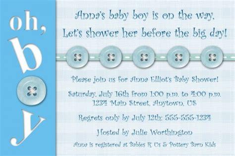 baby boy shower invitations wording  printable baby
