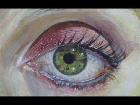 como pintar um olho humano em tela  acrilico youtube