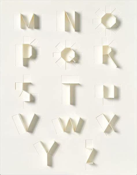 paper typography by sonya dyakova typography pinterest typography typo and fonts