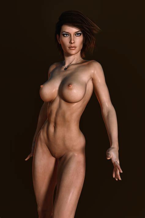 Reallookingcgiboobs Feminax Sexy Naked Girl
