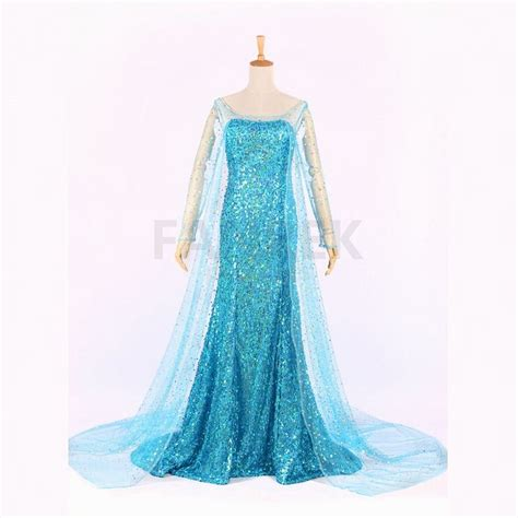 Mukena Frozen Elsa Size Xl disney frozen princess elsa dress costume