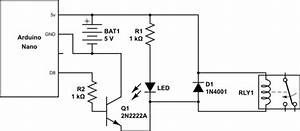 transistors why i don39t get 5v output on 2n2222 using With circuit 2n2222