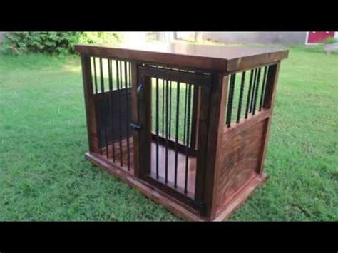 diy wooden dog crate youtube