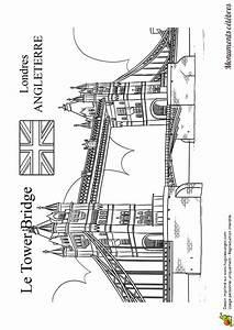 London Bridge Dessin : le c l bre tower bridge de londres colorier dessins pour apprendre coloriage londres ~ Dode.kayakingforconservation.com Idées de Décoration