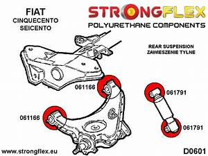 Fiat Seicento Cinquecento Front  U0026 Rear Suspension Bush Kit