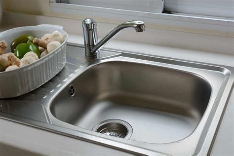 How To Clean Your Kitchen Sink  Mum's Pantry