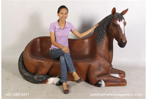 horse bench horse bench furniture