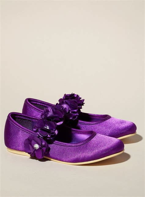 cute shoes  flower girl  purple wedding dream