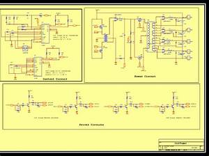 Wiring Diagram Of The Control  Driving And Power