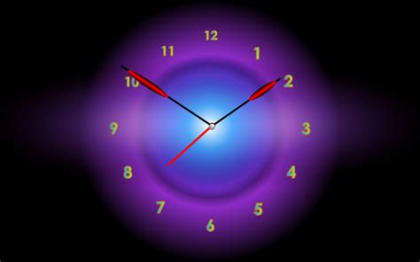 Free Animated Clock Wallpaper For Desktop - radiant clock screensaver adds colors to dull days