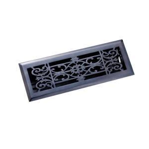 black floor registers home depot zoroufy 4 in x 14 in decorative floor register antique