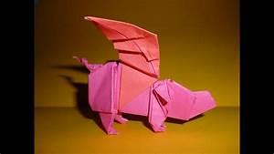 Origami Winged Pig Instructions  Joseph Wu