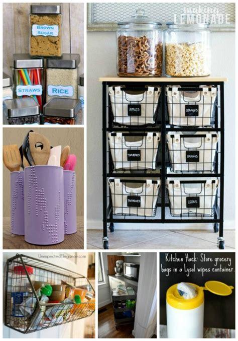 30 Genius Kitchen Storage Hacks   Ideas