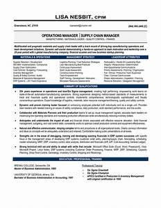 senior logistic management resume senior manager supply With supply chain coordinator resume sample