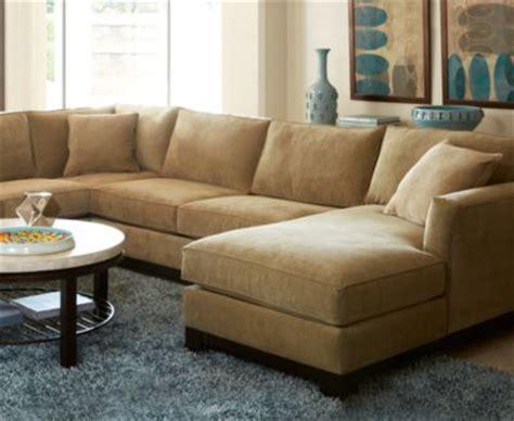 kenton fabric 3 piece chaise sectional sofa furniture