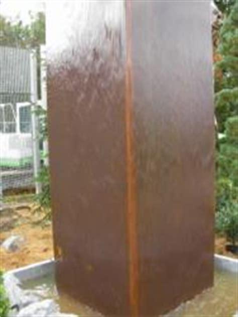 handlauf für gartentreppe einzelne gro 195 ÿe rost braune wassers 195 164 ule im garten bauunternehmen