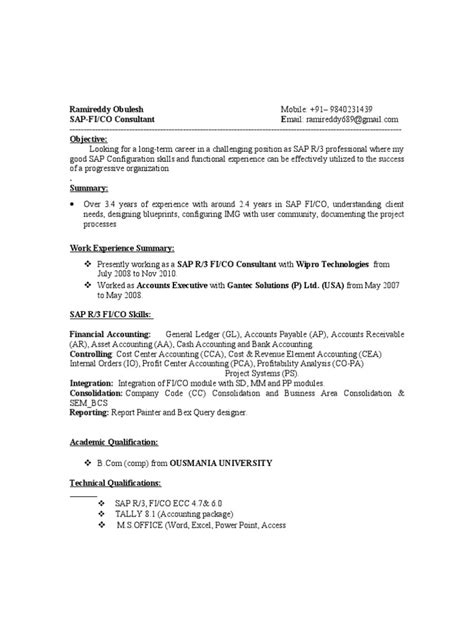 resume put education or last area sales manager