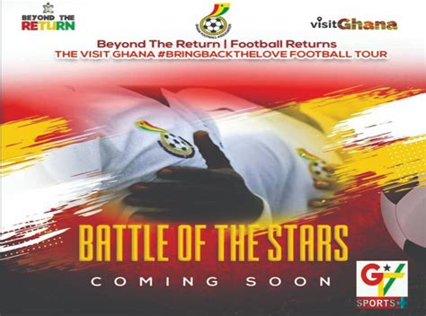GTA, GFA to launch visit Ghana, BringBackTheLove football ...