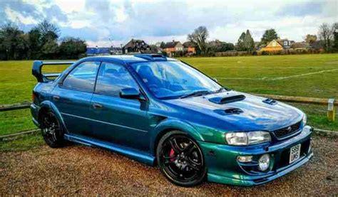 subaru impreza turbo subaru 1999 impreza turbo 2000 awd green wide arch kit