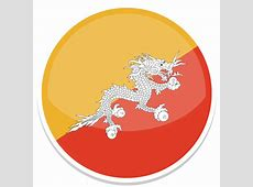 Bhutan Icon Round World Flags Iconset Custom Icon Design