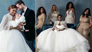 Gorgeous pictures emerge from serena williams and alexis for Serena williams wedding dress